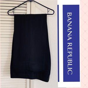 Black Linen Blend 🍌 Banana Republic pants